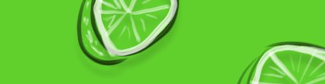 Pizarra de vidrio Verde Limón
